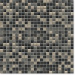 Mosaik Jasba Highlands 6507H torfgrau-mix 1x1cm
