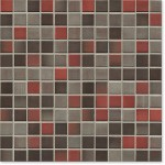 Mosaik Jasba Highlands 6596H karminrot-mix 2x2cm