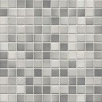 Mosaik Jasba Fresh 41203H light grey-mix glänzend 2x2cm