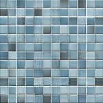 Mosaik Jasba Fresh 41206H denim blue-mix glänzend 2x2cm