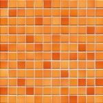 Mosaik Jasba Fresh 41211H sunset orange-mix glänzend 2x2cm