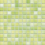 Mosaik Jasba Fresh 41214H lime green-mix glänzend 2x2cm