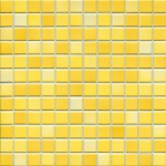 Mosaik Jasba Fresh 41215H sunshine-yellow-mix glänzend 2x2cm